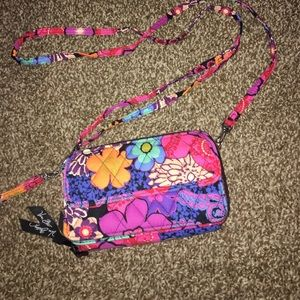 Vera Bradley wristlet/shoulder purse